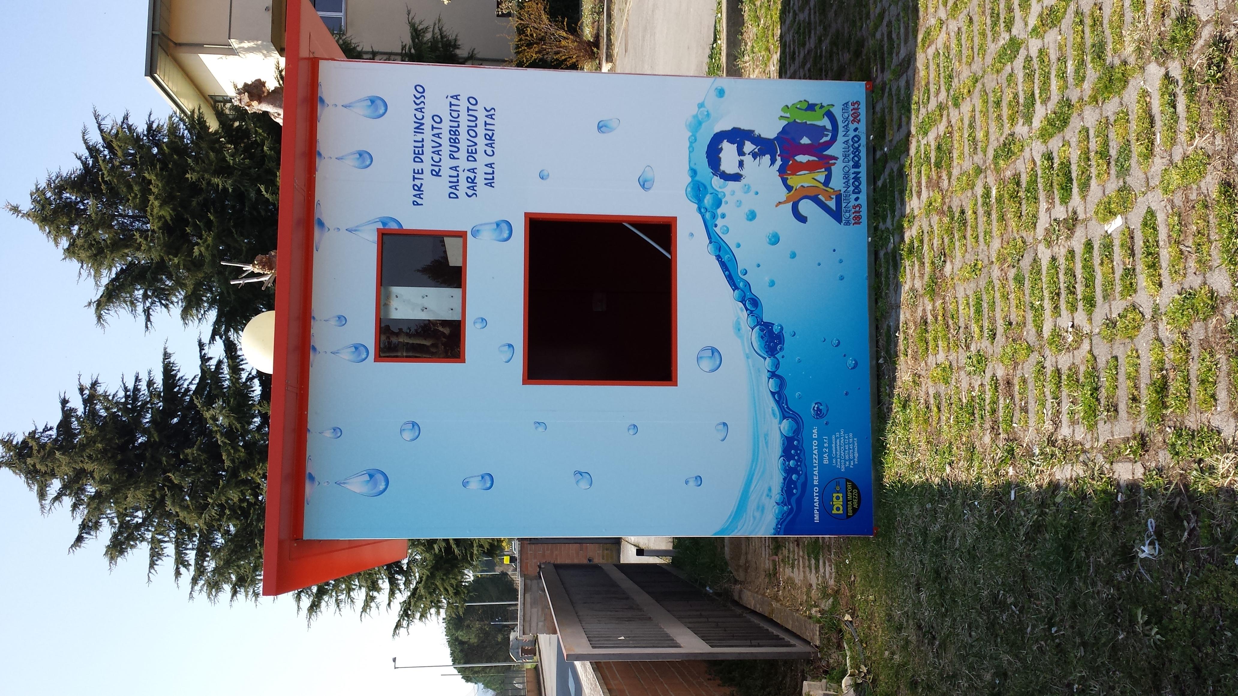 Decorazione casetta acqua