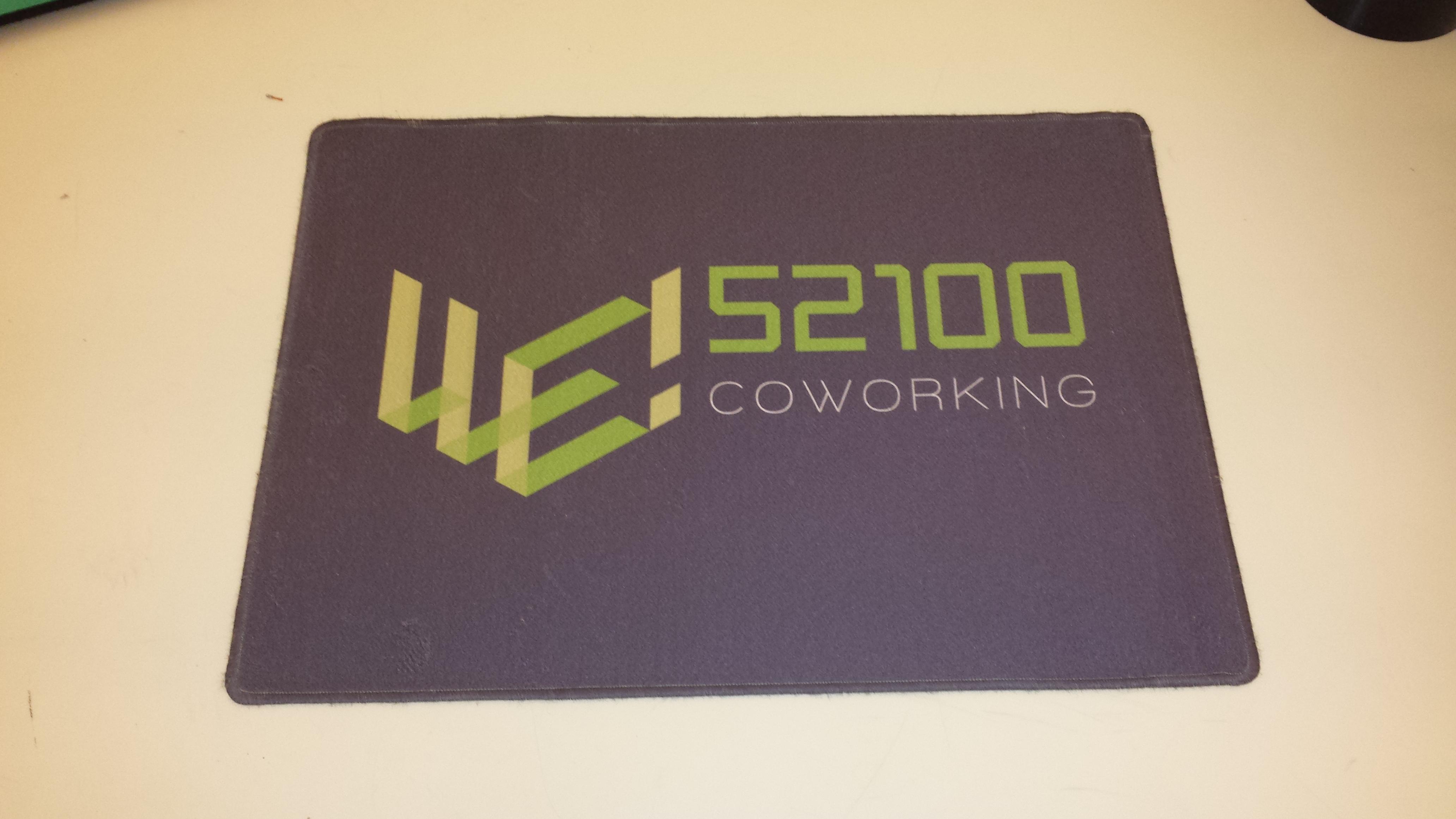Zerbino personalizzato COWORKING