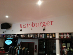 Decorazione pareti Ristoburger