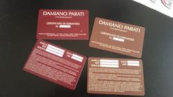 Card Garanzia Damiano Parati