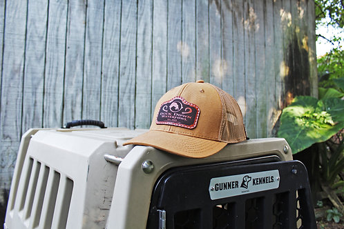 Duck Canvas Leather Patch Hat