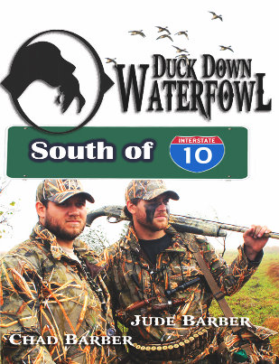 "Duck Down Waterfowl ""South of I10"" DVD"