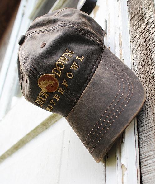 Brown Waxed Cap