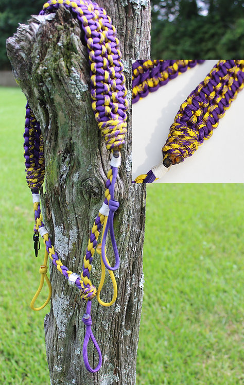 Pro Guide Call Lanyard Purple and Gold