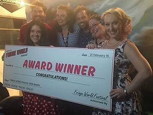 'Dr Felicity Rickshaw's Celebrity Sex Party!' Fringe World award winners