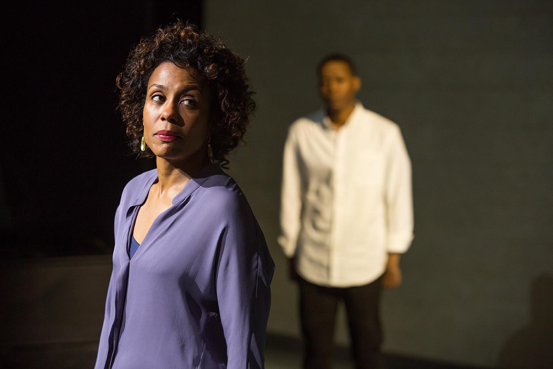 Karen Pittman as Nya and Namir Smallwood as Omari.