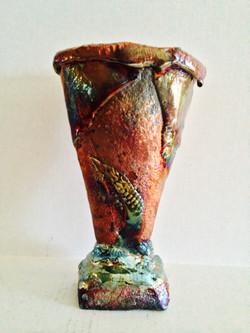 Leafed Vase