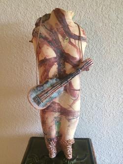 Guitar Woman - SOLD