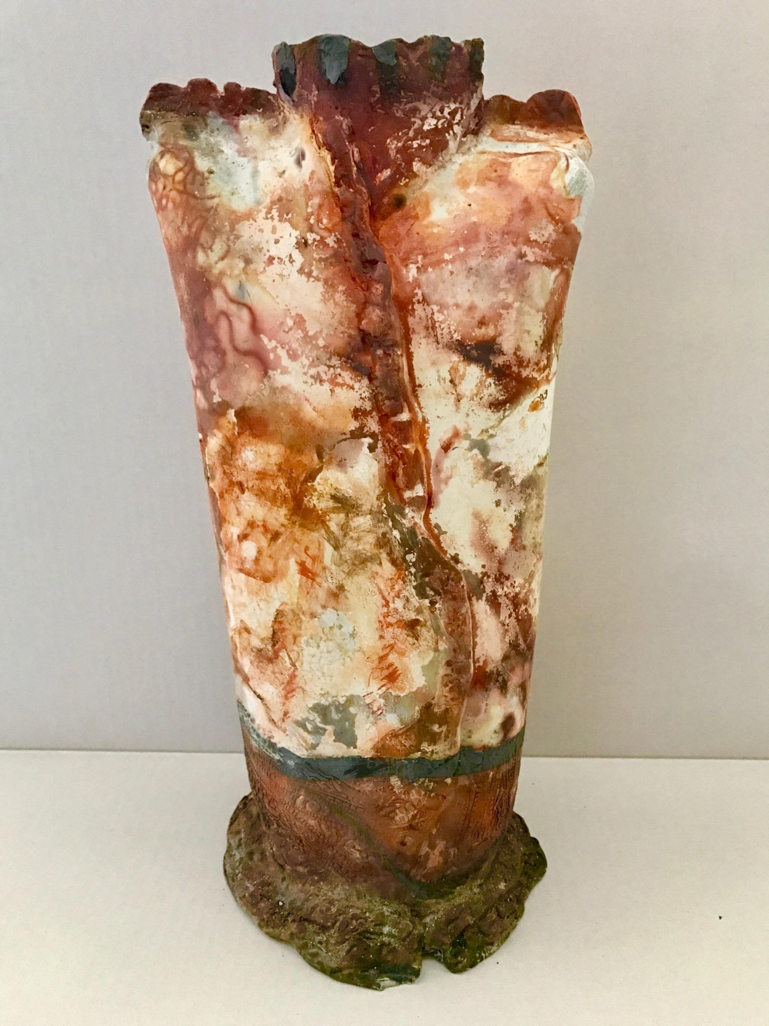 vase brown ancient