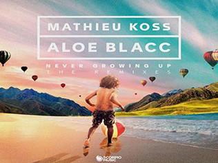 """HITNÚMERO 1: Mathieu Koss & Aloe Blacc - Never Growing Up. """" Homenaje a Jean-Jacques Goldma"""