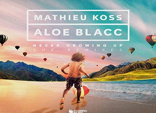"HITNÚMERO 1: Mathieu Koss & Aloe Blacc - Never Growing Up. "" Homenaje a Jean-Jacques Goldma"