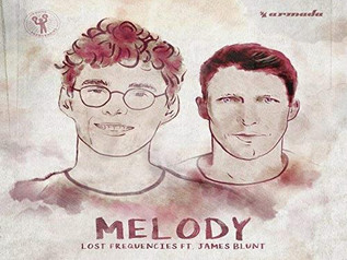 HIT NÚMERO 1: Lost Frequencies Ft.James Blunt - Melody . Del 3  al 9 de Diciembre 2018.