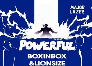 #NÚMEROs 1 #LlSTACHARTS  Select Music Presents Major Lazer Ft.Ellie Goulding - Powerful 