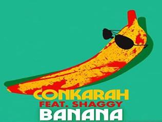 "HIT NÚMERO 1: Conkarah Feat. Shaggy - Banana. ""Platanos Para Todos!!"" (Del 3 De  9 Mayo 2021)"