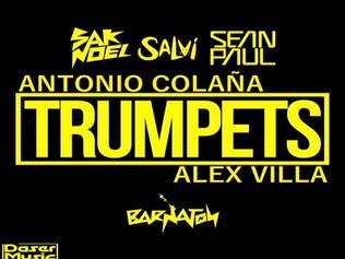 HIT NÚMERO 1: Sak Noel • Salvi Ft.Sean Paul -Trumpets. Del 8 al 14 de Diciembre 2016.