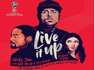 HIT NÚMERO 1: Nicky Jam Ft.Will Smith & Era Istrefi - Live It Up  . Del 17  al 23 de Diciembre 2