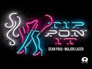 HIT NÚMERO 1: Sean Paul & Major Lazer - Tip Pon It . Del 26 de Noviembre al 2 de Diciembre 2018.