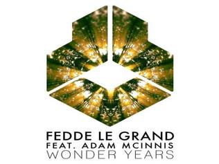 HIT NÚMERO 1:  Fedde Le Grand Feat. Adam McInnis - Wonder Years.Del 13 al 19 de Agosto 2018.