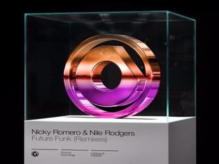 HIT NÚMERO 1:  Nicky Romero • Nile Rodgers-Future Funk. Del 17 al 23 de Octubre 2016.