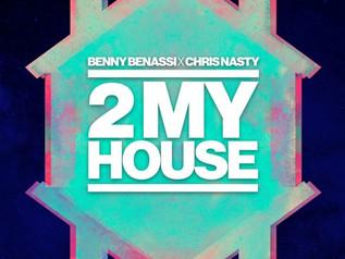 HIT NÚMERO 1:  Benny Benassi x Chris Nasty – 2MyHouse . Del 19 al 25 de Marzo 2018.