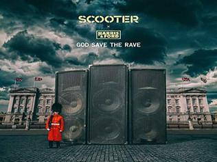 HIT NÚMERO 1: Scooter x Harris & Ford – God Save The Rave. Del 16  Al 22 De Diciembre 2019.