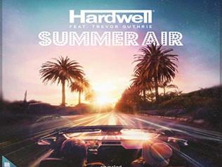 HIT NÚMERO 1: Hardwell Feat. Trevor Guthrie - Summer Air. Del 6 Al 12 De Enero 2020.