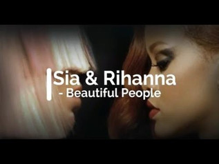 HIT NÚMERO 1: Sia Ft.Rihanna - Beautiful People. Del 24 al 30 de Abril 2017.