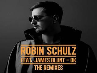 HIT NÚMERO 1:  Robin Schulz Feat. James Blunt – OK. Del 26 al 4 de Marzo 2018.