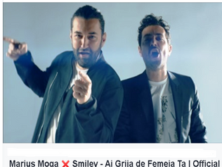 HIT NÚMERO 1: Marius Moga & Smiley - Ai Grija de Femeia Ta. Del 16 Al 22 De Marzo 2020.