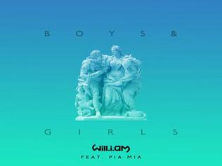 HIT NÚMERO 1: Will.i.am Feat. Pia Mia Boys & Girls. Del 23 al 31 de Diciembre 2016.