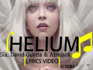 HIT NÚMERO 1: Sia & David Guetta & Afrojack - Helium. Del 24 al 30 de Septiembre 2018.