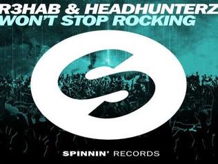 HIT NÚMERO 1: R3hab & Headhunterz - Won't Stop Rocking . Del 20 al 30de Junio de 2016