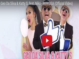 HIT NÚMERO 1: Geo Da Silva • Katty S. Ft. Niko - Makosa. Del 8 al 15 de Noviembre 2017.