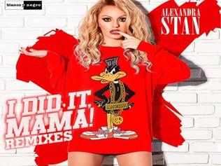 HIT NÚMERO 1: Alexandra Stan - I Did It Mama (globalrecords). Del 25 al 31de Julio de 2016.