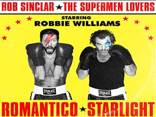 HIT NÚMERO 1: Bob Sinclar vs The Supermen Lovers Ft. Robbie Williams - Romantico Starlight . Del 23