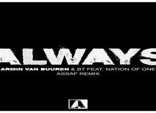 """Nº1: Armin Van Buuren & BT Ft.NationOfOne - Always. """"Siempre Muy Grande"""".(Del 26  Al 31 De Octubre)"""