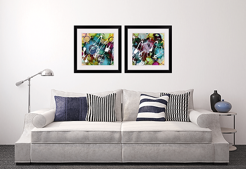 Party Central Framed Prints