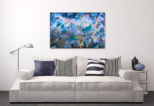 Cosmic Way Canvas