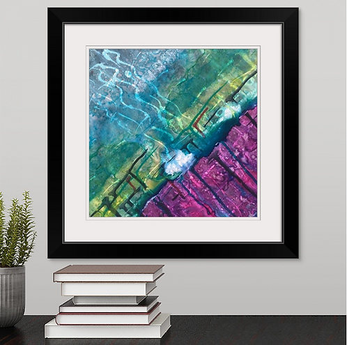 Conception Framed Print