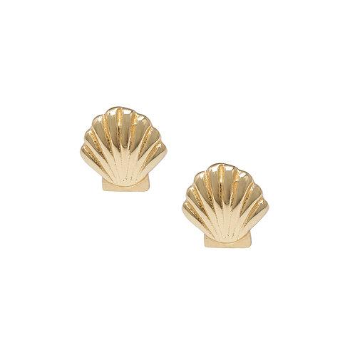 Little Shell Earrings Gold