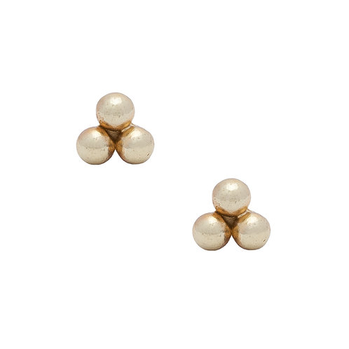 Dotted Earrings Gold