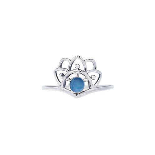 Opal Mandala Ring