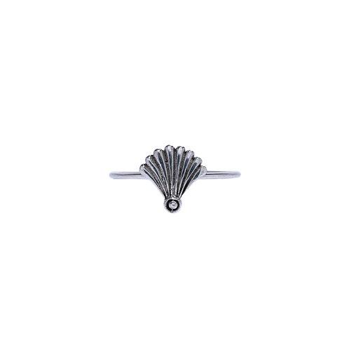 Silvershell Ring