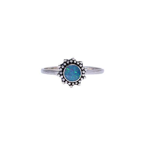 Opal Sun Ring