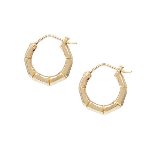 Bamboo Earrings Gold