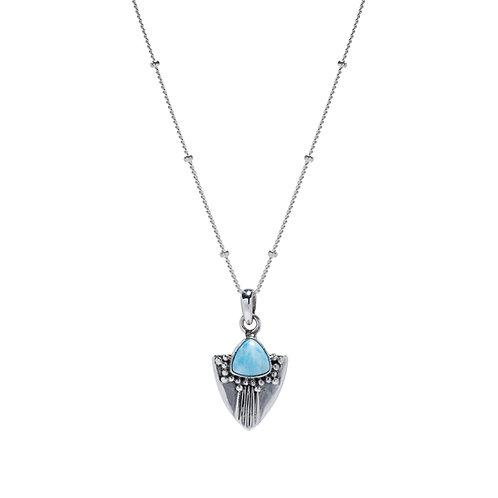 Frida Larimar Necklace