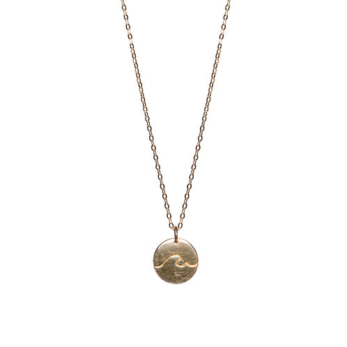 Little Wave Necklace Gold