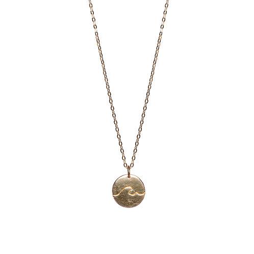 Little Wave Necklace Gold
