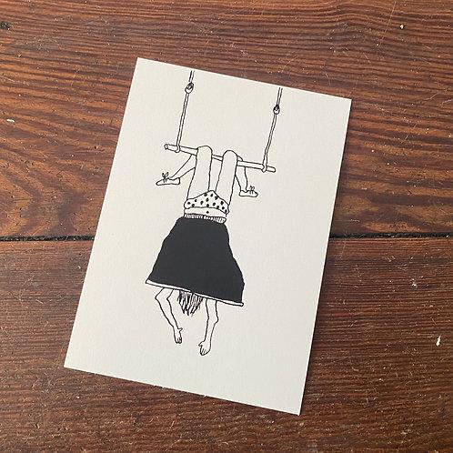 "Postcard ""Pipi Langstrumpf"""