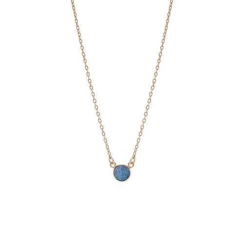 Little Opal Necklace Gold